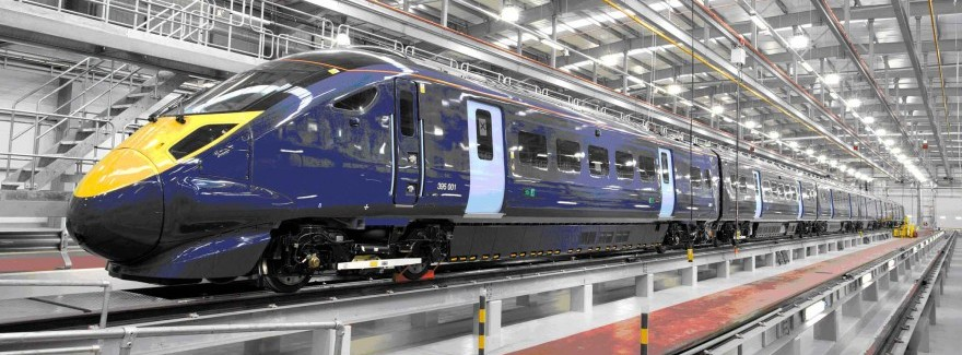 Bullet-Train-arrives-at-new-Ashford-depot